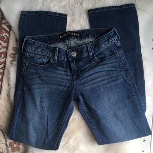 Express barely boot size 2 short women's jeans